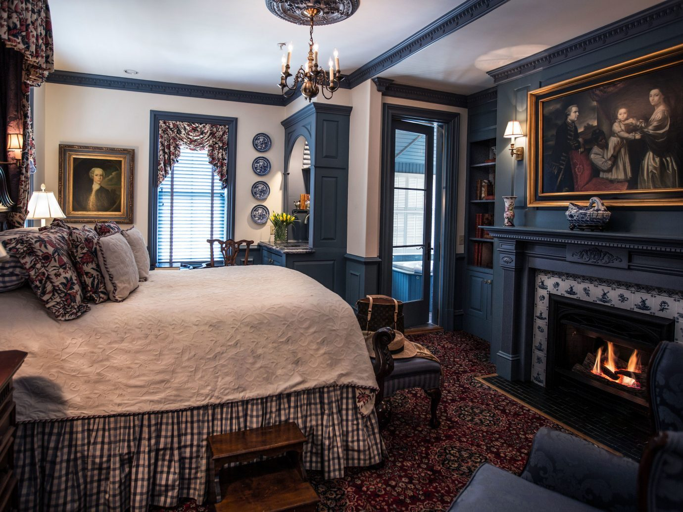 Bedroom at The Chanler at Cliff Walk