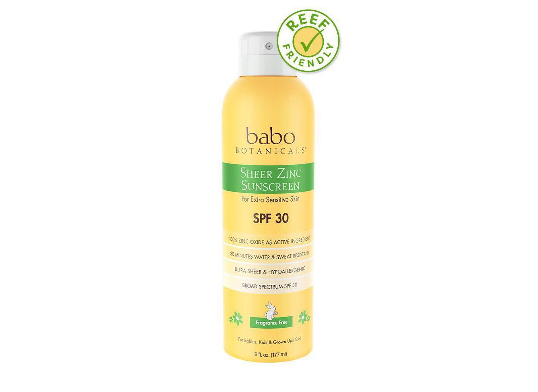 Babo Sheer Zinc Continuous Spray Sunscreen SPF 30
