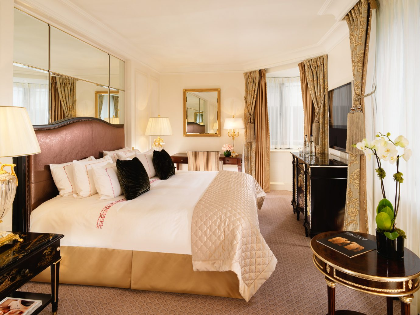 Bedroom at The Dorchester