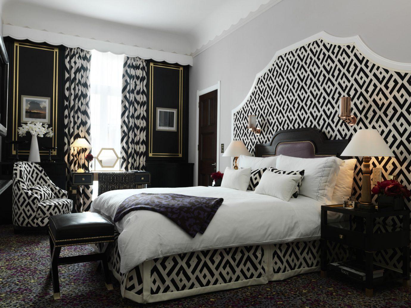 Bedroom at Claridge's, London