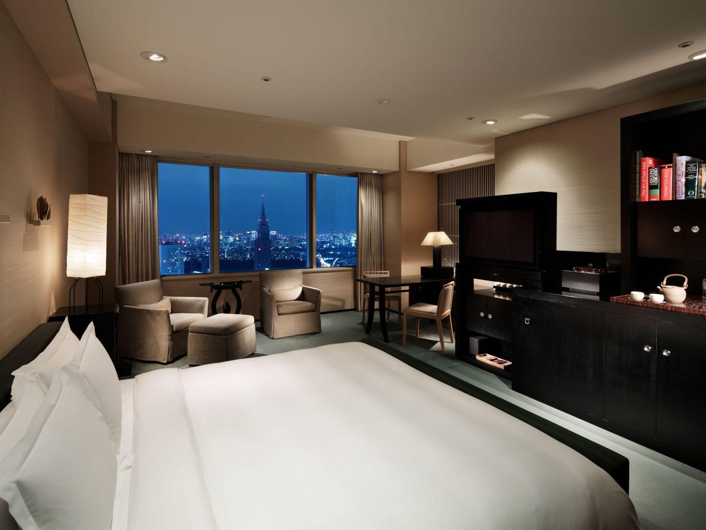 Deluxe guest room at the Park Hyatt Tokyo
