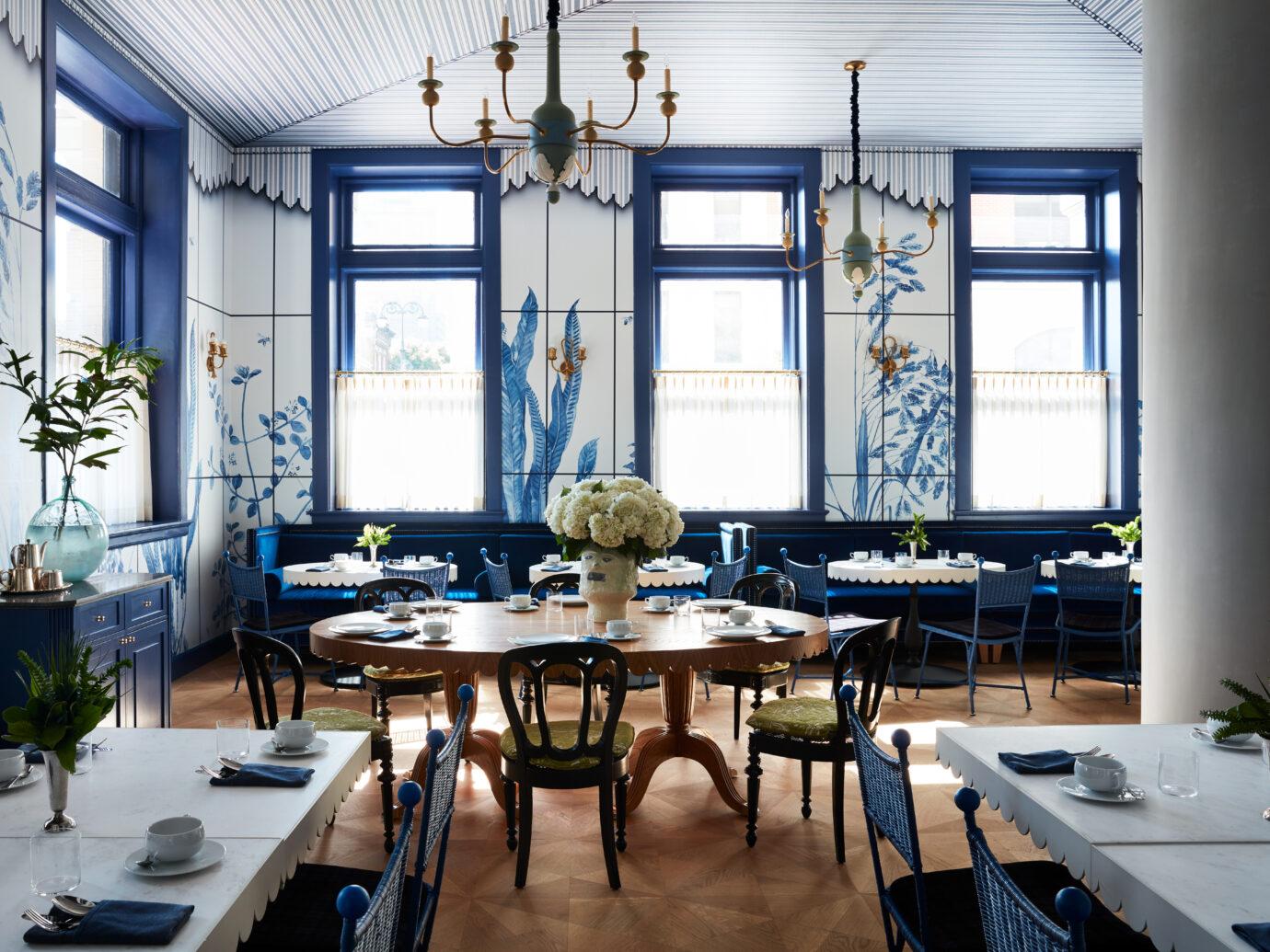 Restaurant at Maison de la Luz