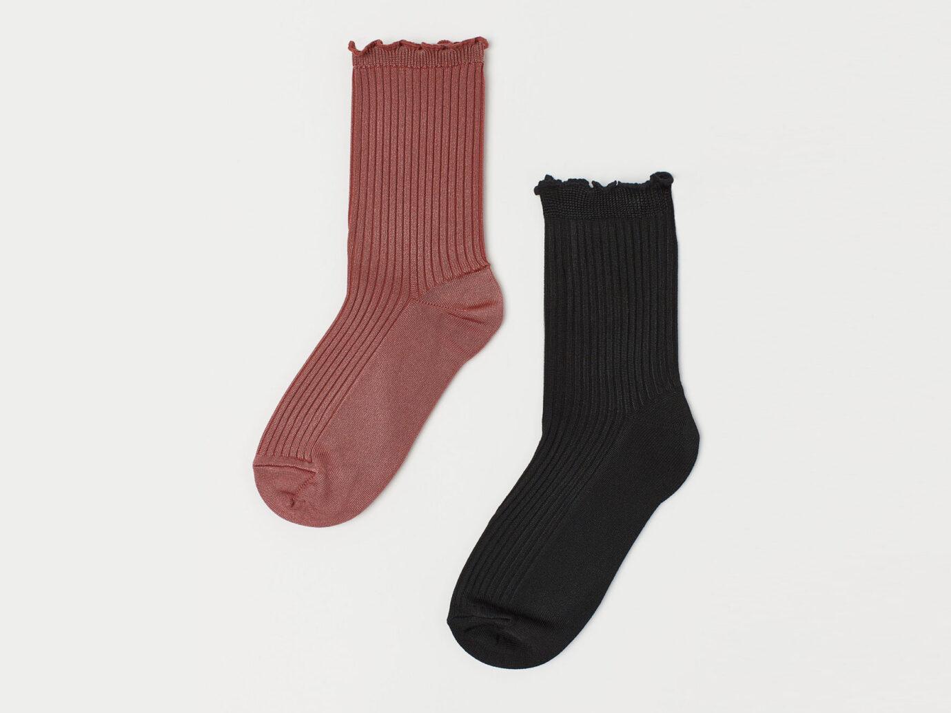 H&M 2-pack Viscose-blend Socks