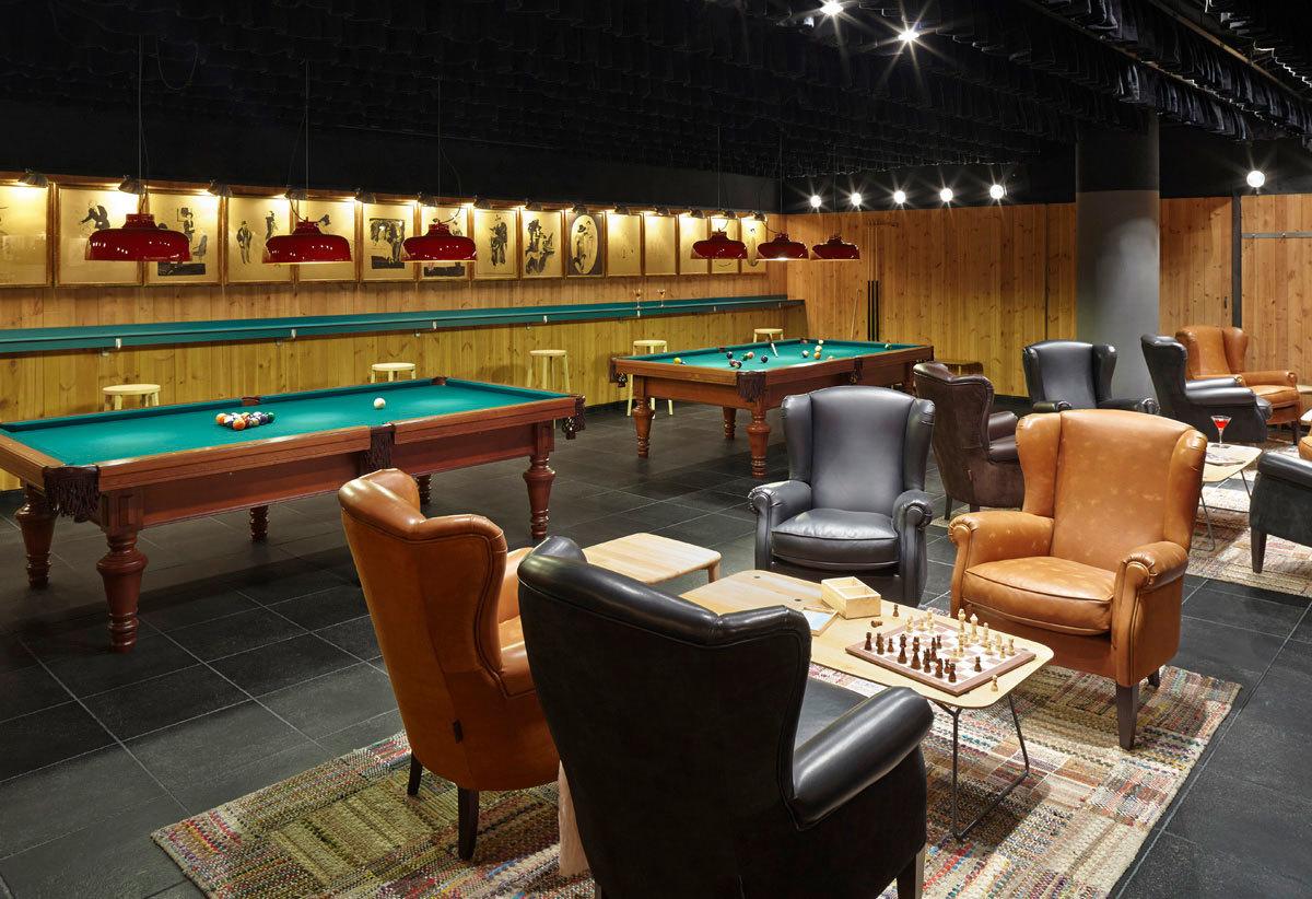 Lounge at Casa Camper Barcelona