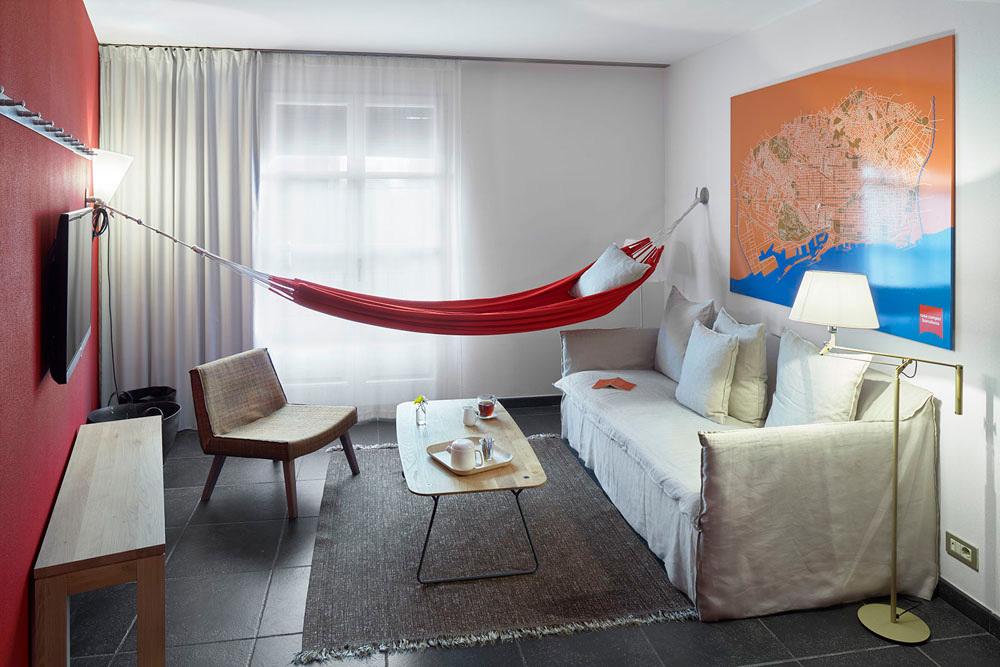 Bedroom at Casa Camper Barcelona
