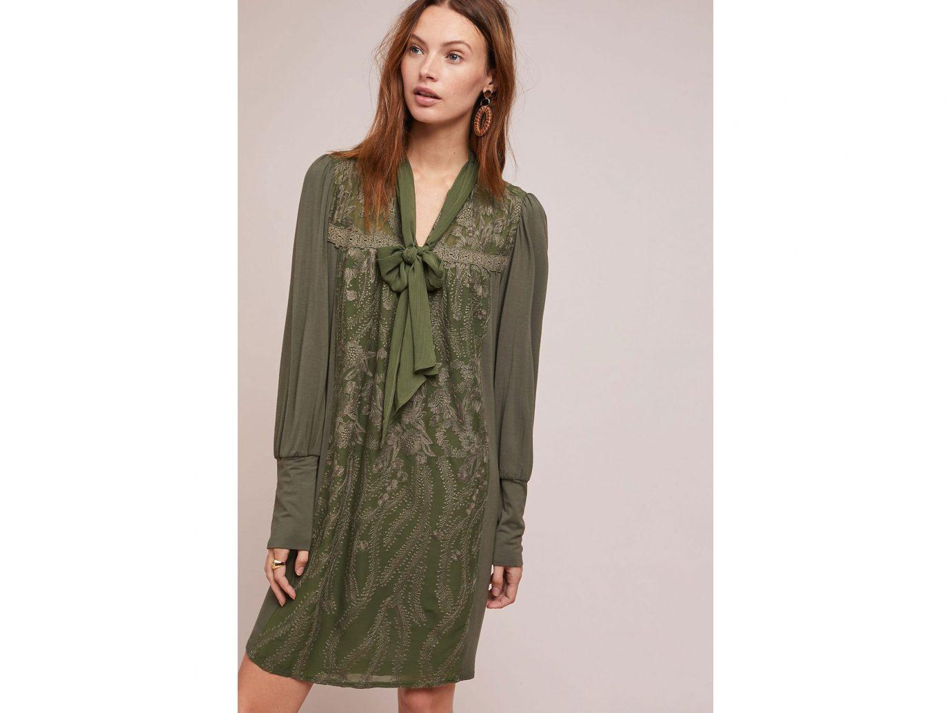 Isla Embroidered Tunic Dress