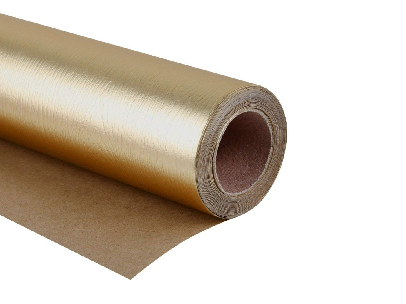 Glossy Gold Gift Wrapping Paper