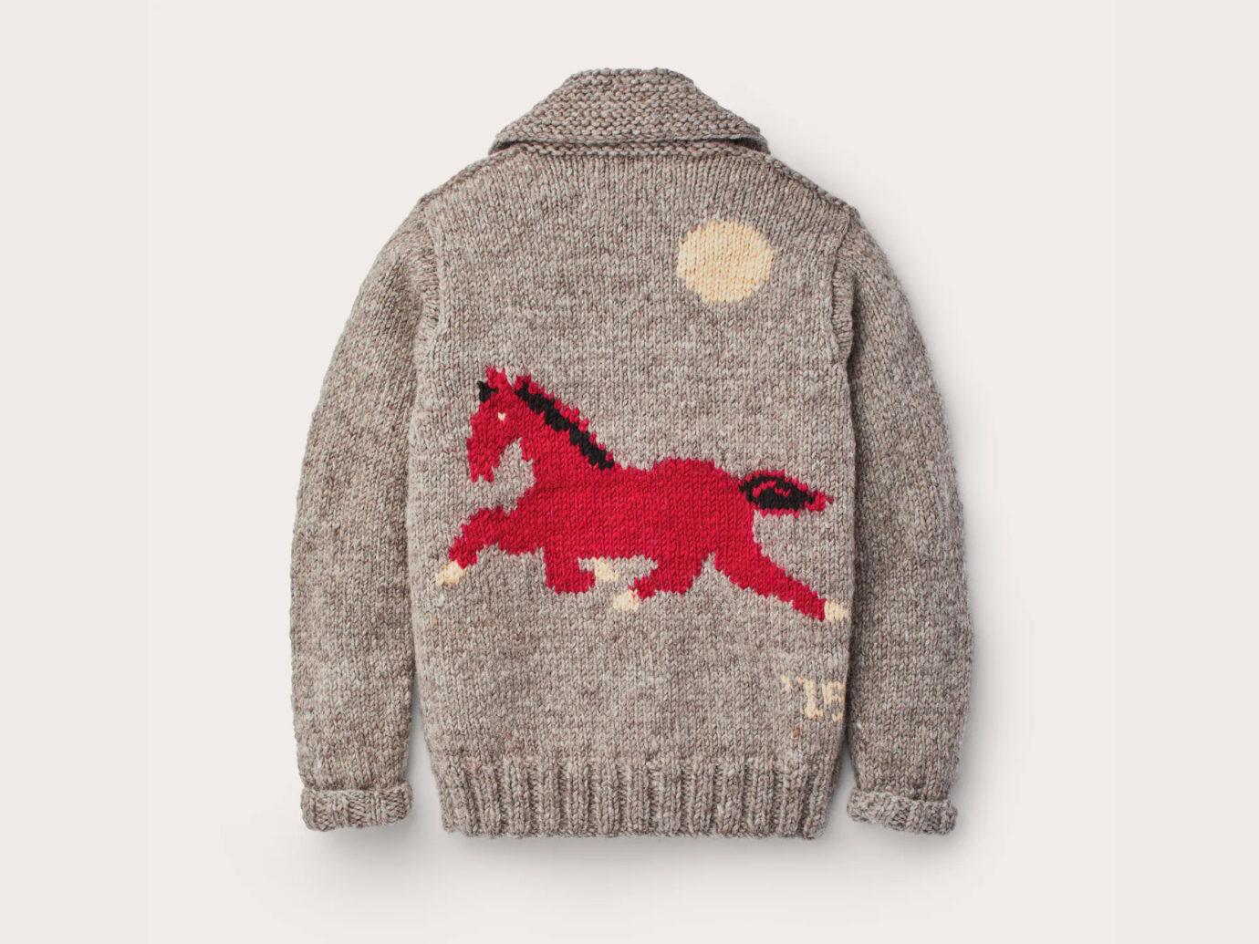 Filson Handmade Horse Sweater