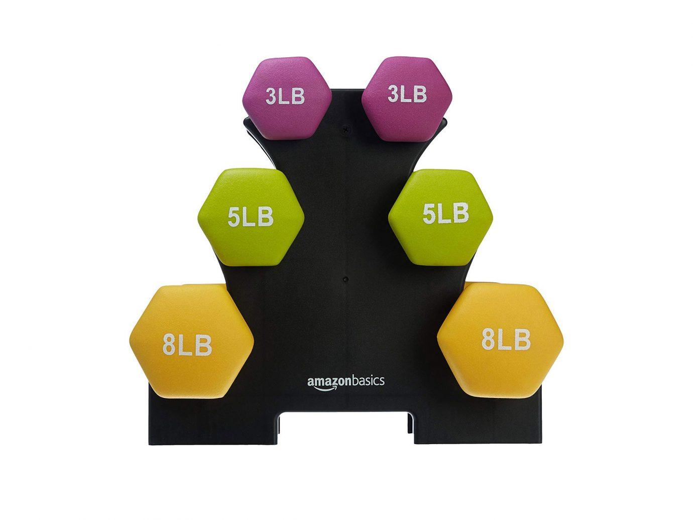 Buy AmazonBasics Neoprene Dumbbells on Amazon