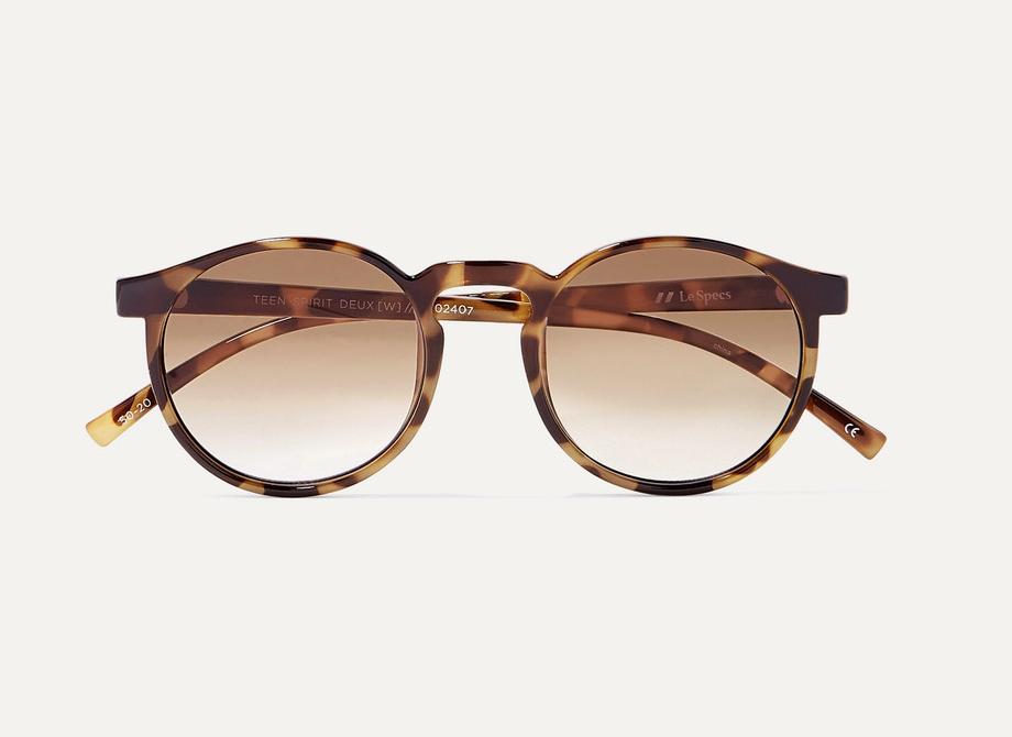 Le Specs Teen Spirit Round-frame Sunglasses