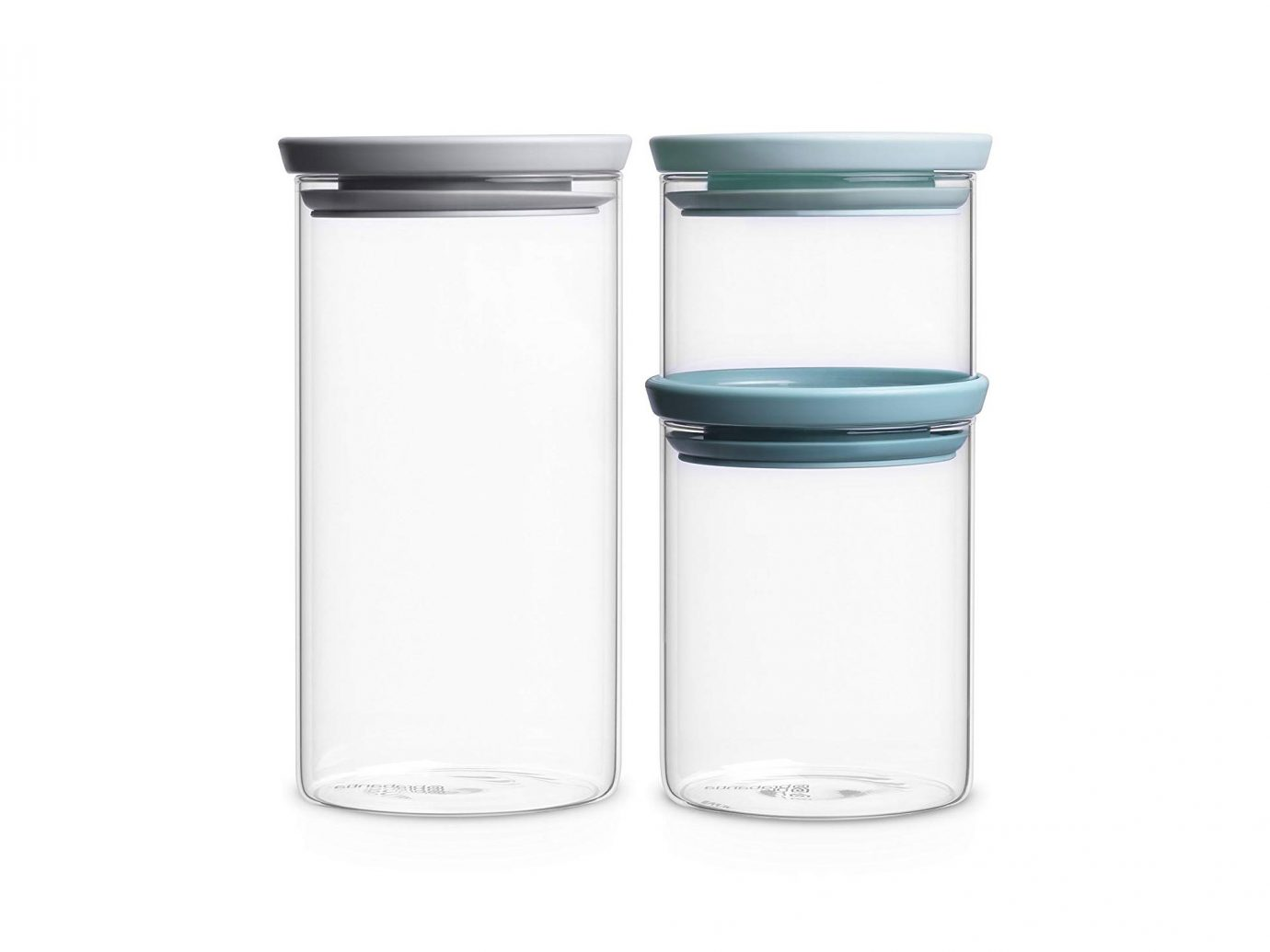 Brabantia Stackable Glass Food Storage Containers