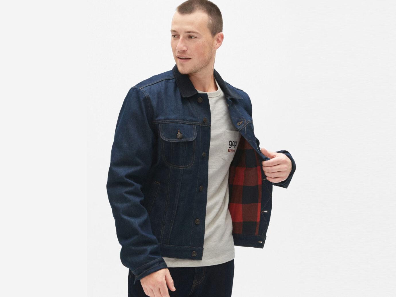 Gap 70's Pioneer Denim Jacket