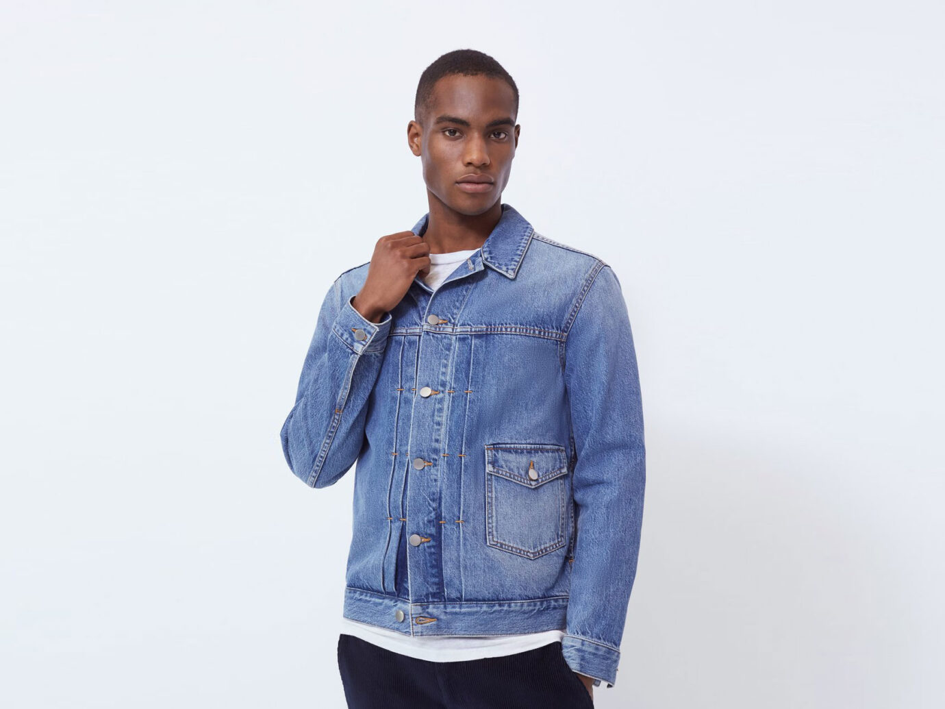 BLDWN Lyle Jacket in Pure