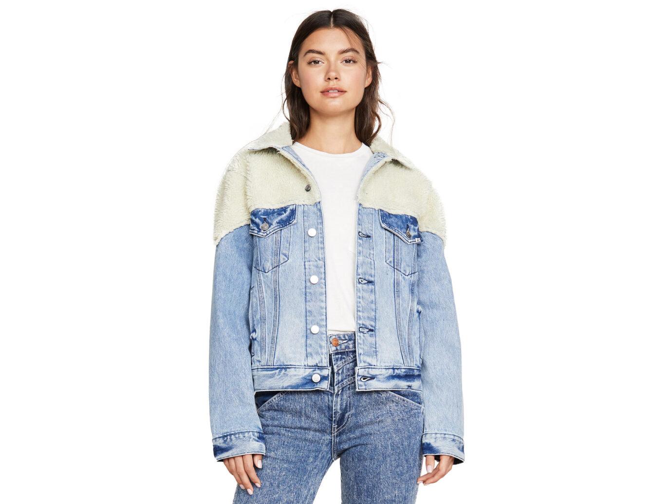 Jordache Sherpa Denim Jacket