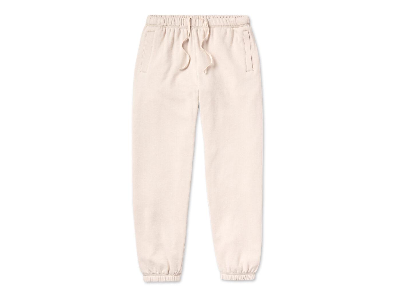 Entireworld Loop Back Sweatpants Cream Sweatpants