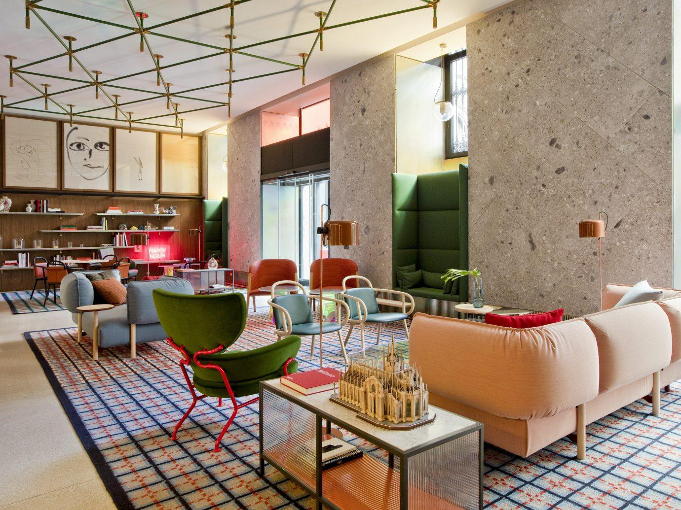 Hotels floor indoor property room living room interior design condominium home restaurant real estate estate Design Lobby apartment window covering furniture