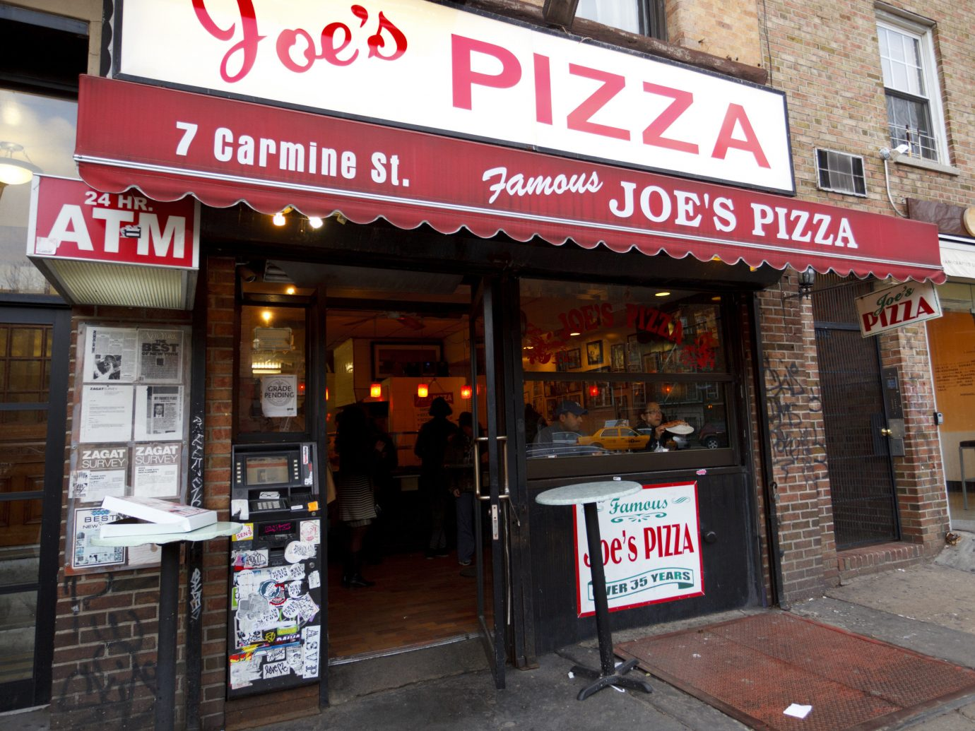 Brooklyn Food + Drink NYC City retail street shopping facade signage window service advertising