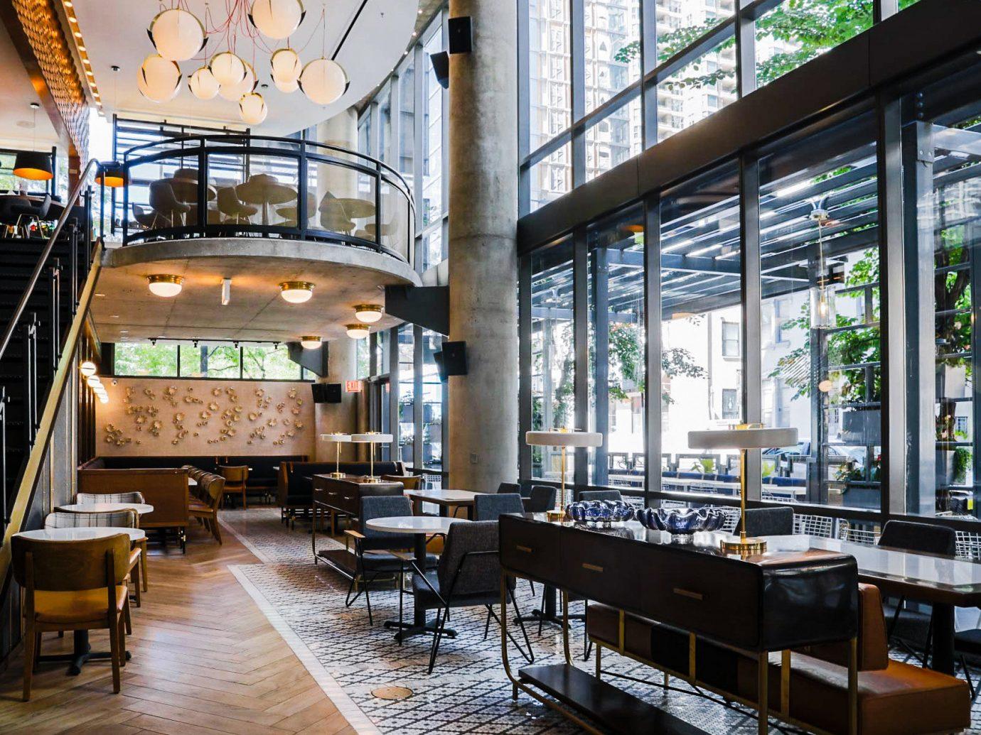 Arts + Culture Food + Drink Hotels Weekend Getaways indoor floor restaurant interior design café area furniture