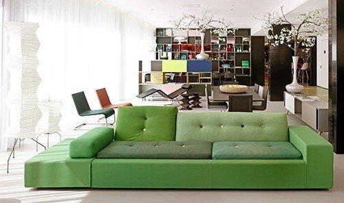 Hotels green indoor room Living floor sofa living room furniture seat couch interior design modern art studio couch bed sheet Design area