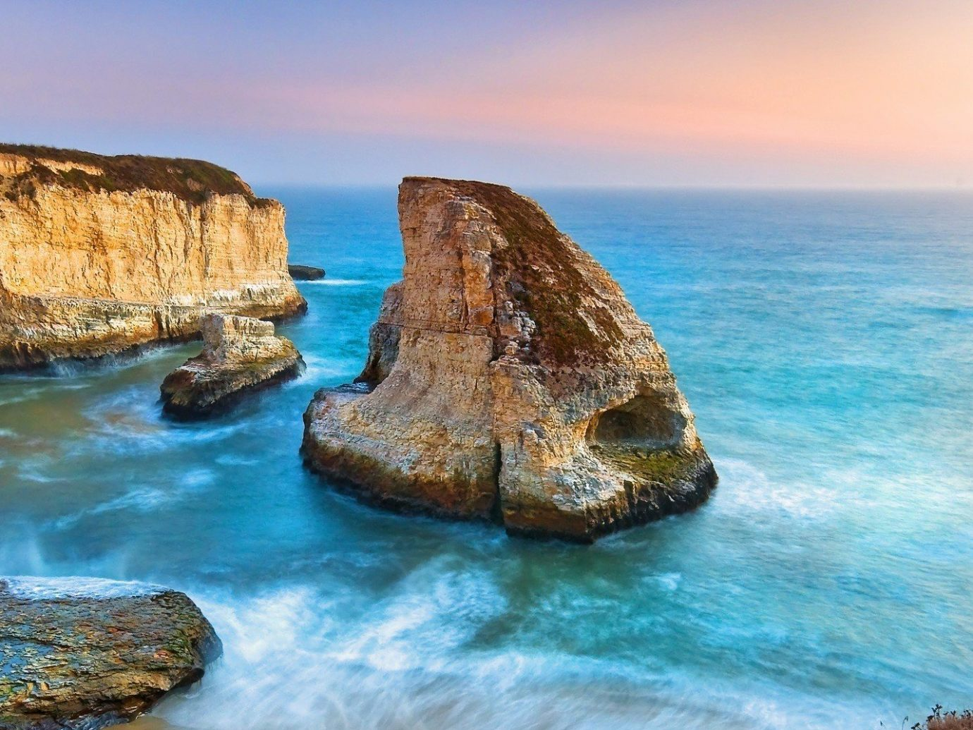 Trip Ideas water sky outdoor Coast shore rock Sea Nature Ocean landform geographical feature body of water cliff horizon Beach islet stack wave wind wave terrain cape bay cove material formation