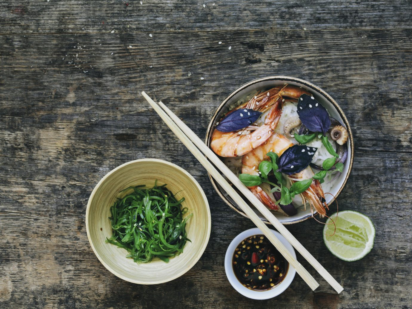 Offbeat food dish meal produce fish cuisine lunch vegetable several