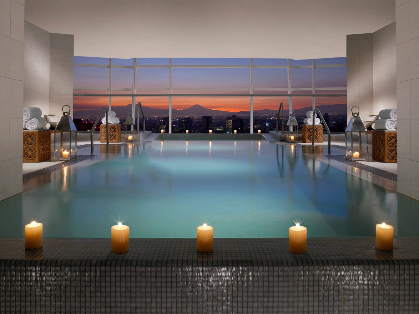 Hotels floor Lobby interior design swimming pool estate convention center orange Bar