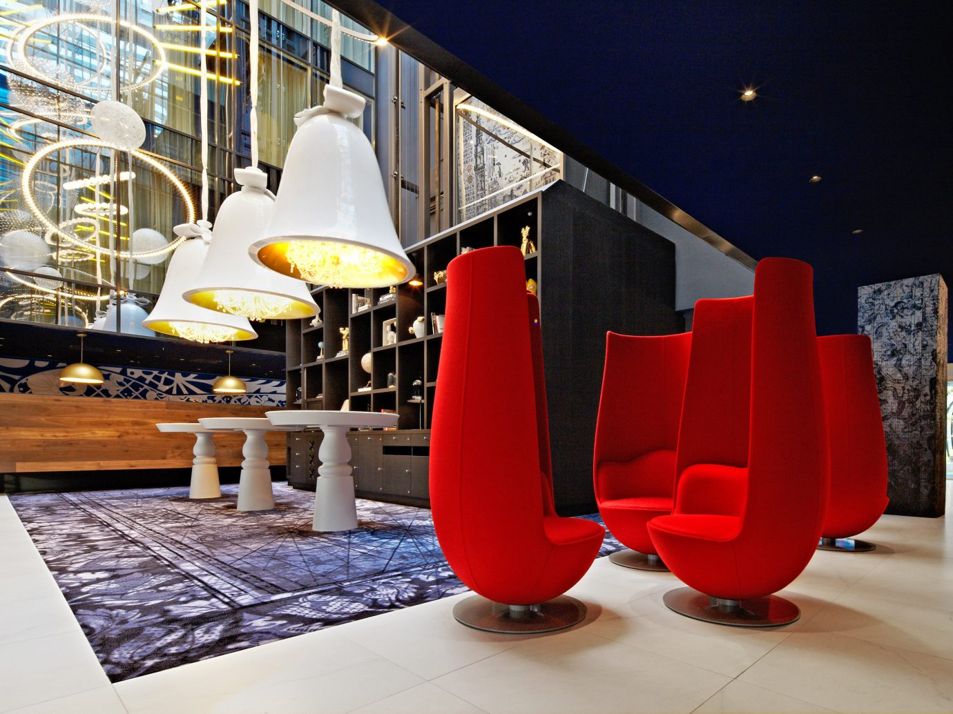 Amsterdam Boutique Hotels Hotels The Netherlands color interior design red vehicle Design exhibition tourist attraction furniture chair orange