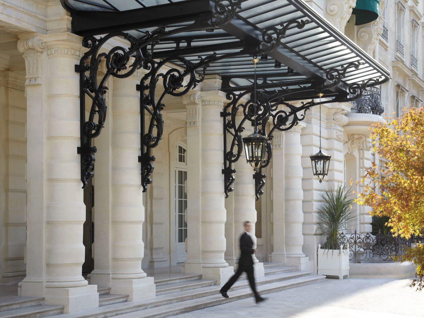 Elegant Exterior Hotels Scenic views Style + Design building outdoor column structure Architecture baluster art sculpture arch tourist attraction statue monument colonnade