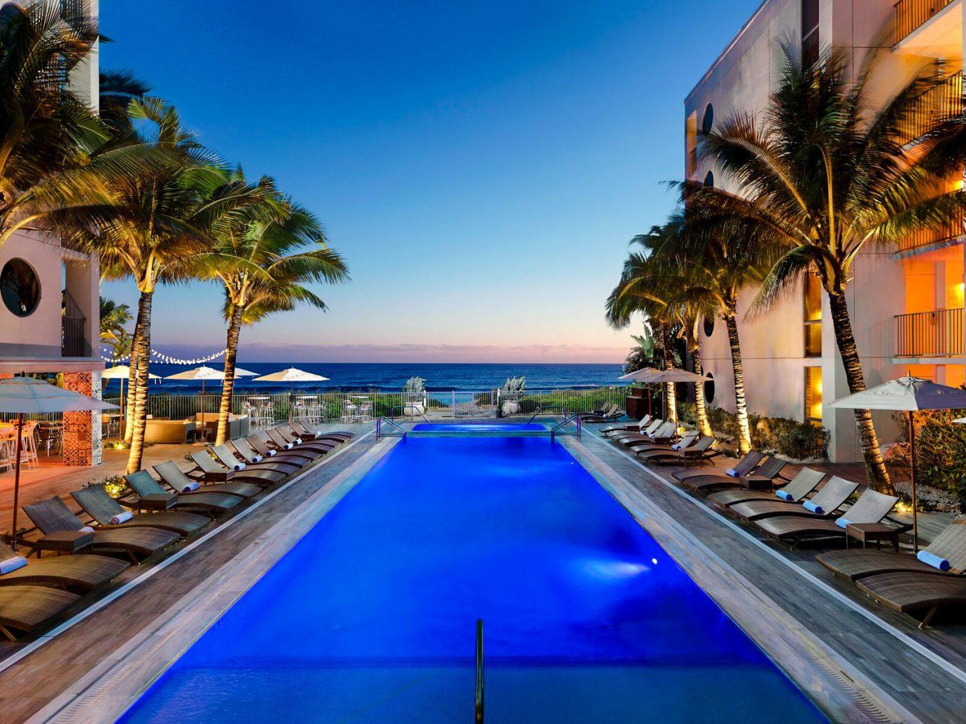 Trip Ideas tree sky outdoor leisure swimming pool Resort vacation estate caribbean marina Villa lined palm