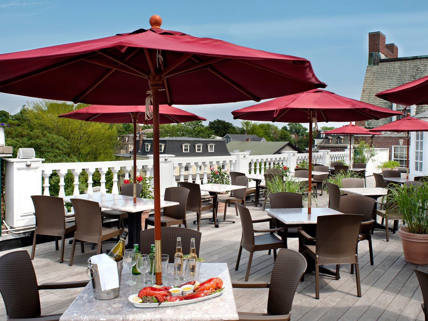 Hotels table chair outdoor umbrella Dining restaurant Resort set outdoor structure furniture several day