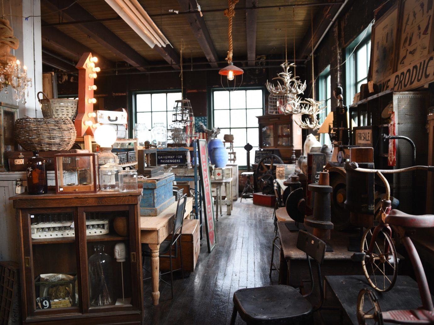 Trip Ideas indoor Boutique interior design tourist attraction cluttered
