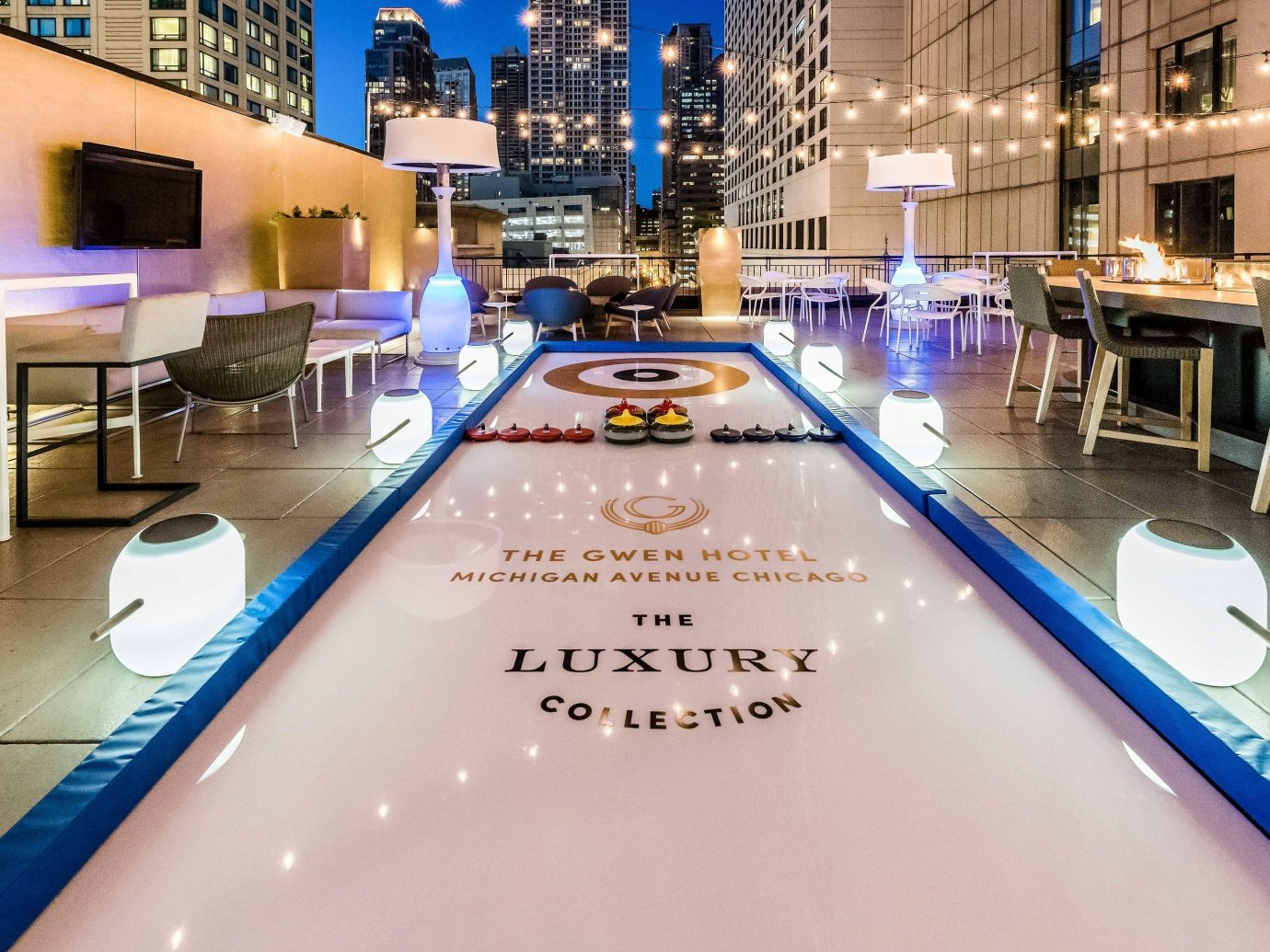 Food + Drink building indoor interior design leisure centre table floor leisure flooring function hall swimming pool