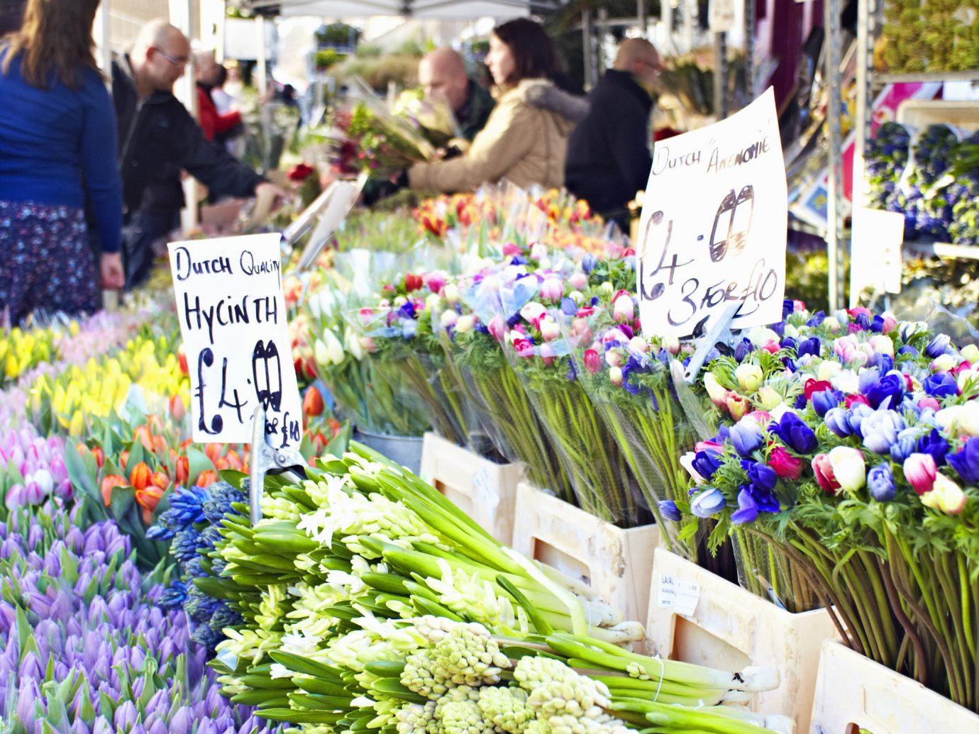 marketplace market City public space flower human settlement floristry plant scene vendor vegetable