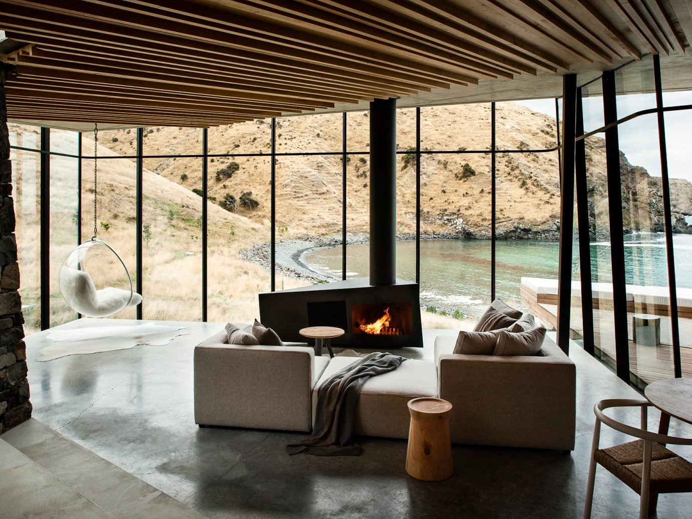 Lounge at Annandale, New Zealand