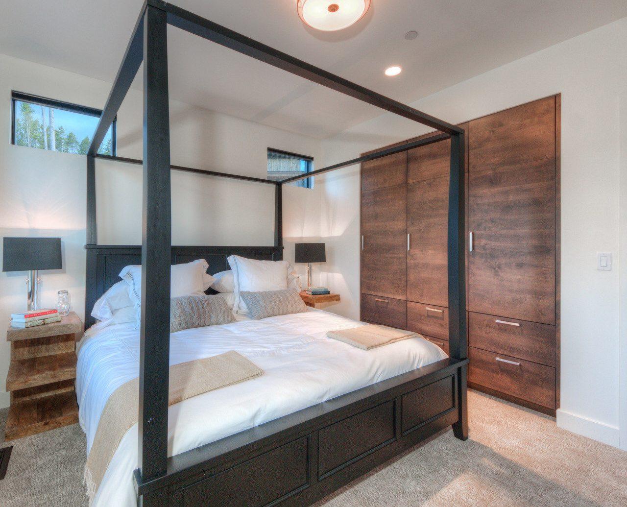 Hotels indoor wall floor bed Bedroom room property furniture real estate interior design estate bed frame Suite cottage