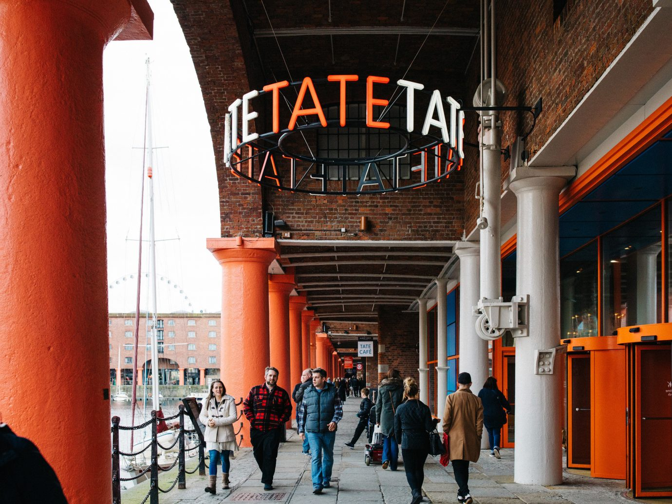 Trip Ideas building outdoor orange people City