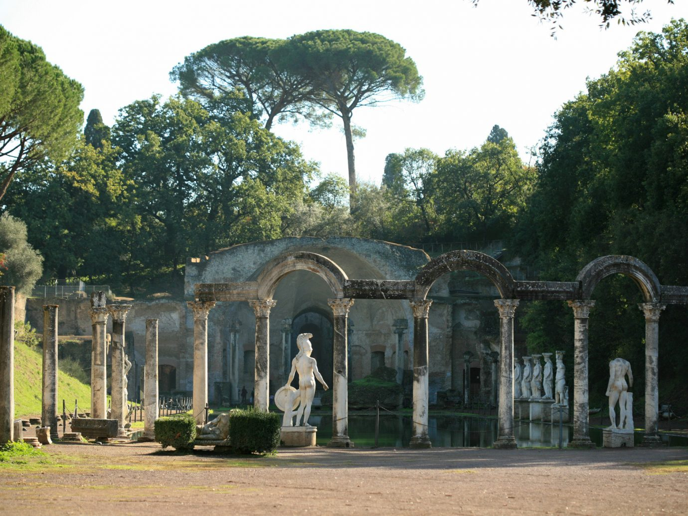 Trip Ideas tree outdoor building structure estate Garden ancient history grass stately home Ruins mansion plant archaeological site park palace column hacienda outdoor structure landscape arch ruin