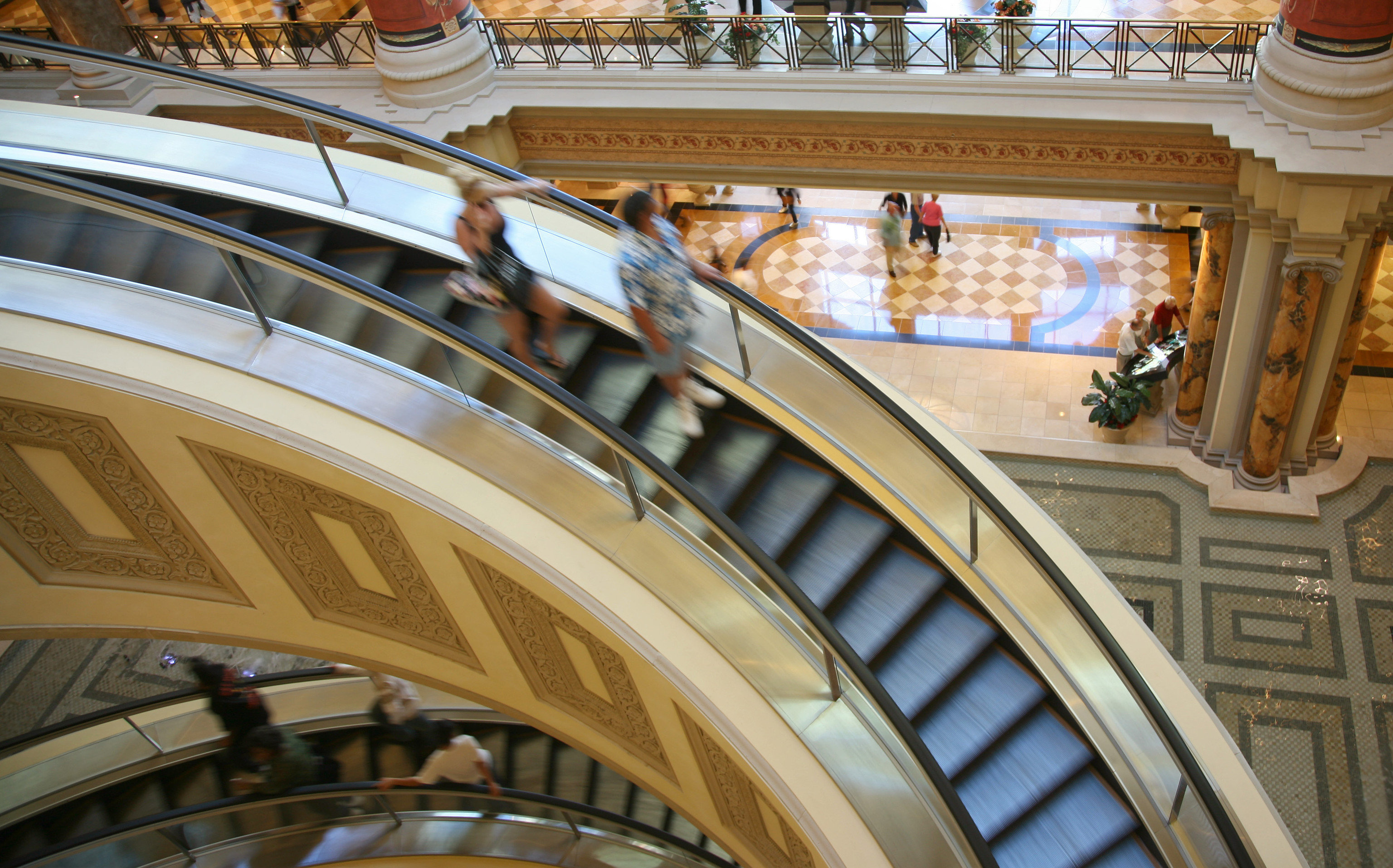 Trip Ideas building Architecture arch facade public transport escalator window stairs shopping mall tourist attraction ceiling step
