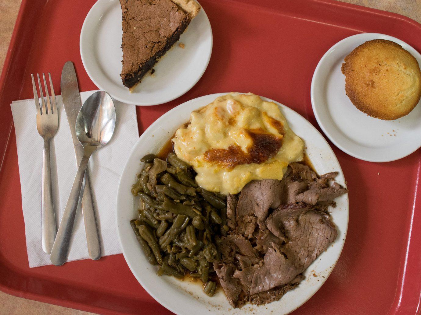 Food + Drink food plate dish meal lunch breakfast cuisine meat restaurant piece de resistance