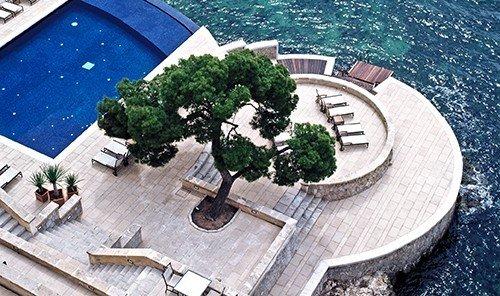 Beach outdoor swimming pool aerial photography estate mansion home urban design vehicle Resort dock marina