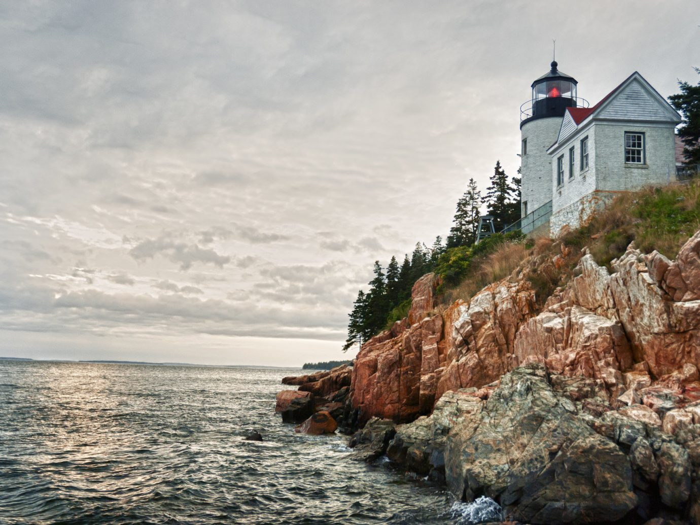 Trip Ideas rock outdoor water sky rocky Sea Coast shore tower cliff Ocean lighthouse Nature terrain cape cove bay stone hillside