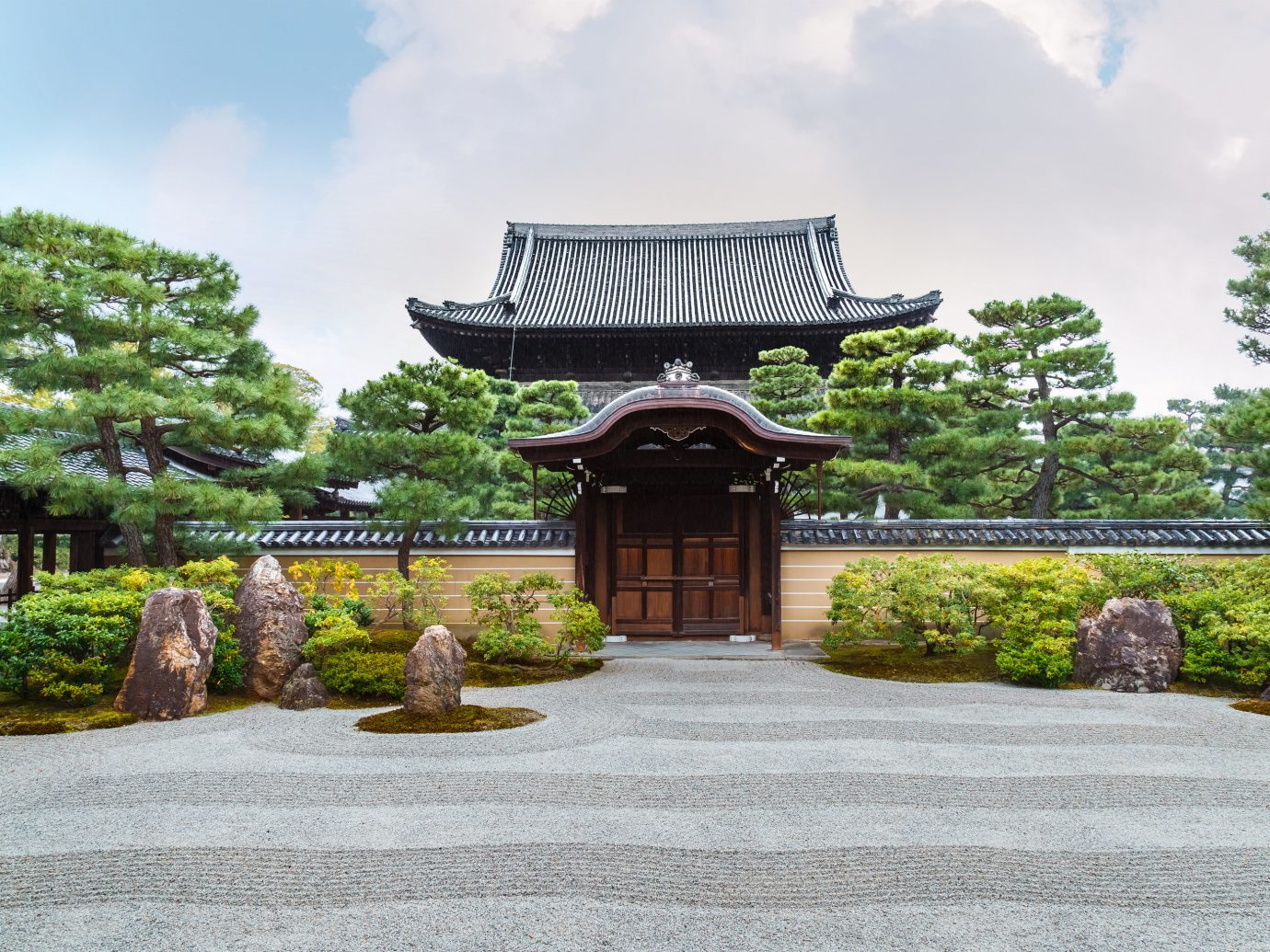 Beauty Health + Wellness Japan Kyoto San Francisco Travel Tips chinese architecture japanese architecture tree Garden temple historic site shinto shrine shrine estate plant pagoda outdoor structure landscape landscaping tourism leisure pavilion grass