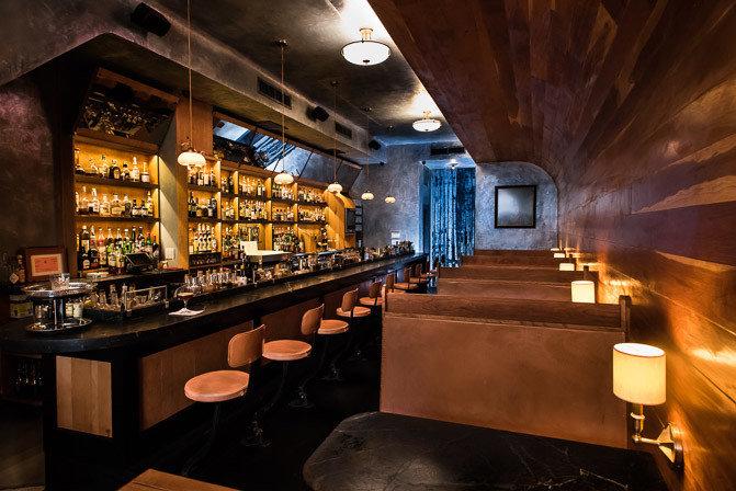 Food + Drink indoor ceiling floor Bar interior design restaurant tavern pub area cooking