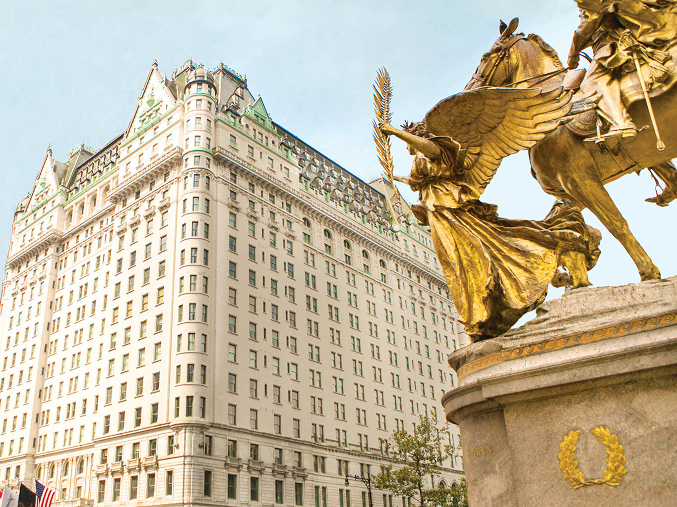 Architecture Buildings City Design Exterior Hotels Luxury NYC Resort Scenic views outdoor landmark statue building monument facade ancient history sculpture palace place of worship
