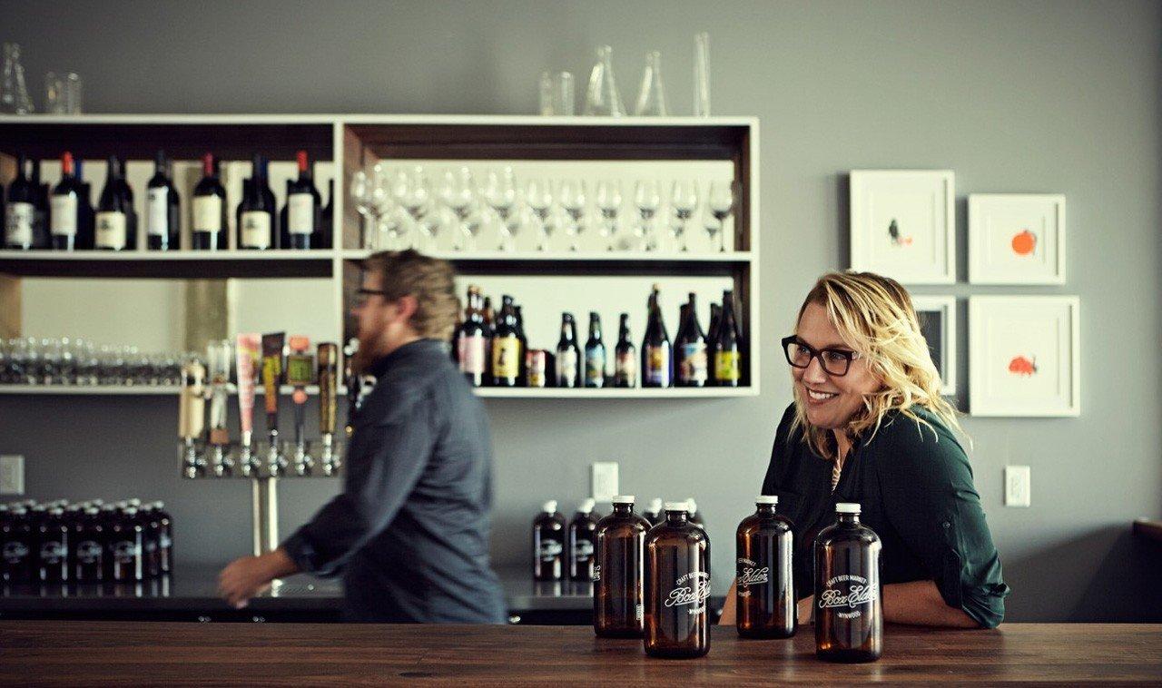 Trip Ideas indoor wall bottle person brand Design