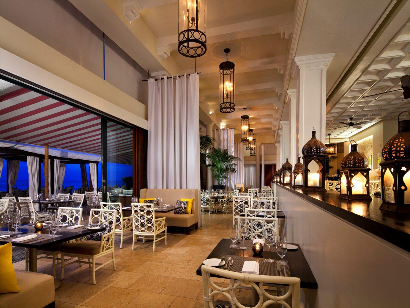 Boutique Hotels Hawaii Honolulu Hotels table indoor room restaurant function hall meal interior design estate Lobby Dining Design ballroom furniture Bar Island