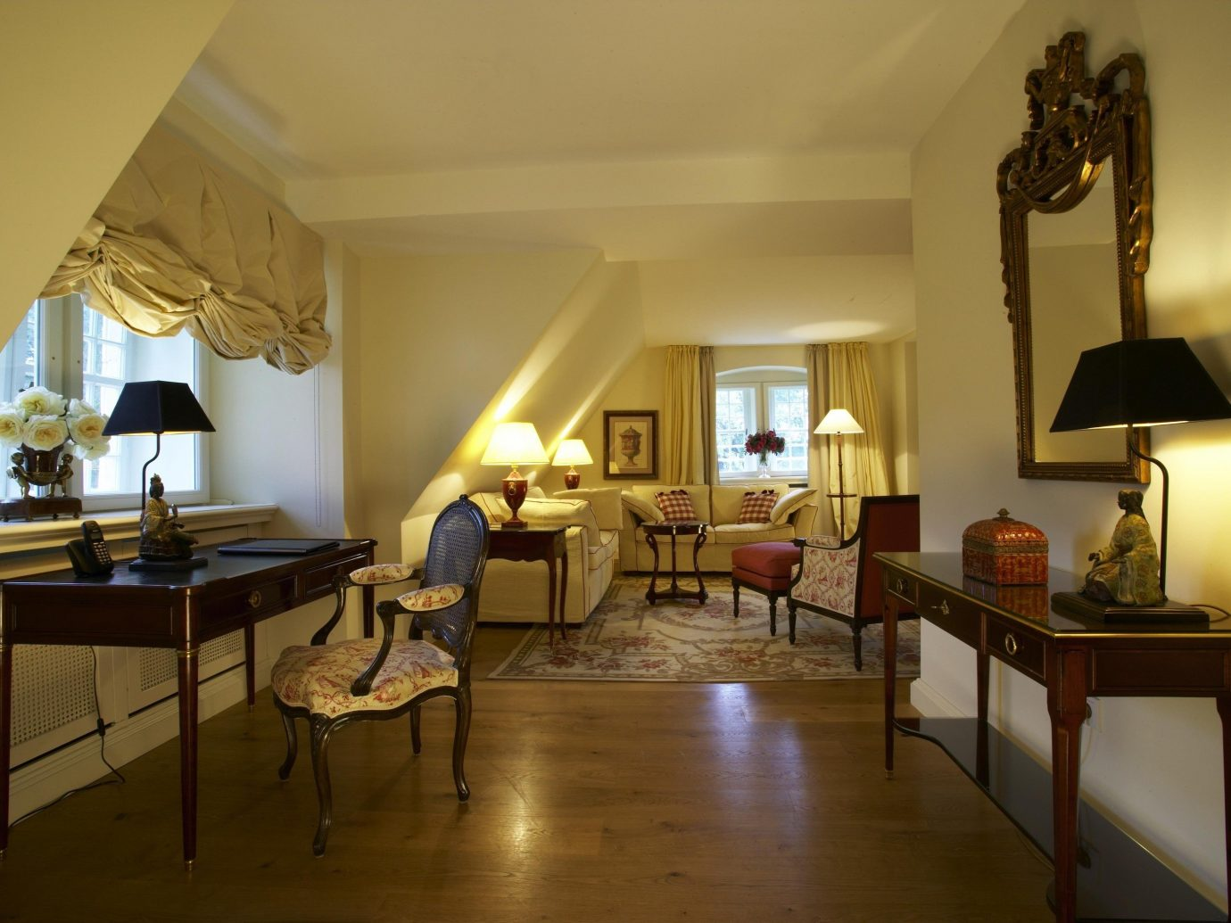 Hotels Landmarks Luxury Travel indoor floor wall room Living chair interior design Suite ceiling living room furniture real estate estate hotel window area lamp several
