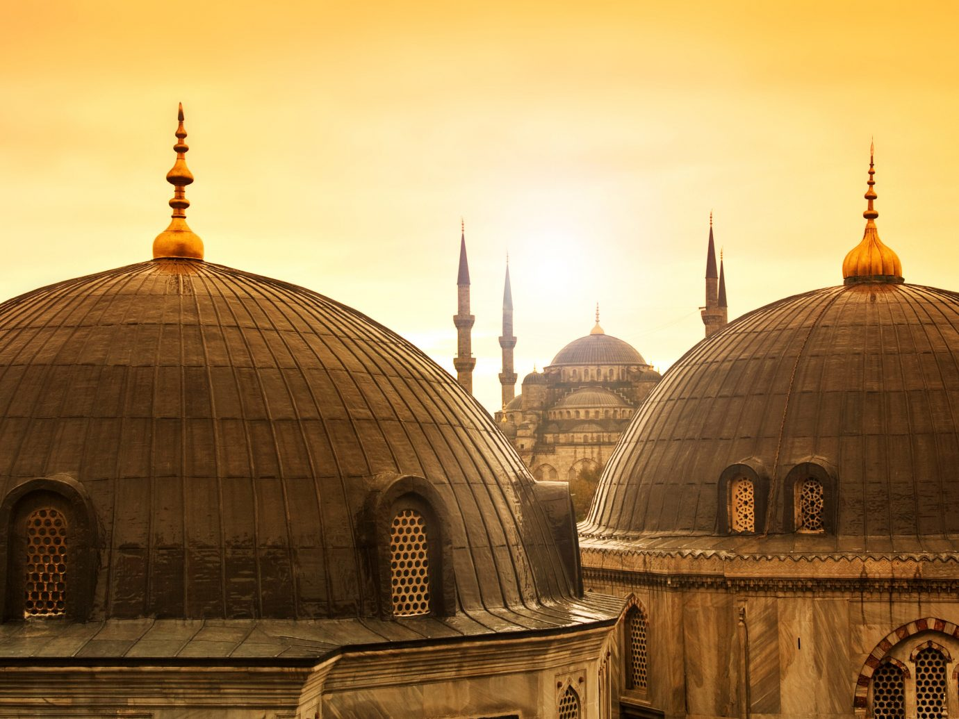 Trip Ideas sky building outdoor place of worship dome landmark byzantine architecture ancient history mosque Church temple evening cathedral basilica