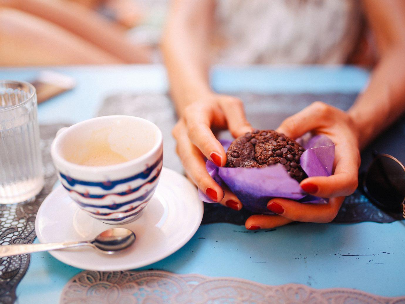 Trip Ideas person cup meal food breakfast eating sense baking flavor sweetness brunch