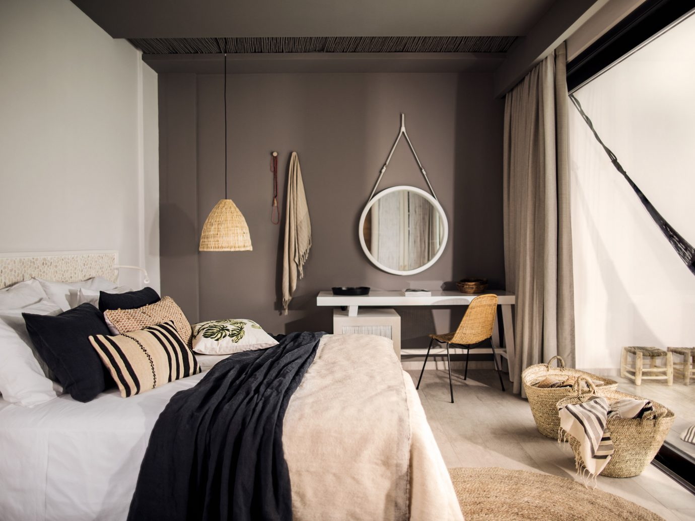 Hotels indoor wall room bed Bedroom property home interior design living room hotel Suite Design furniture estate cottage
